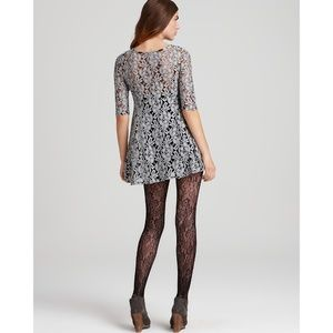 Free People Miles of Lace Dress in Gray size L